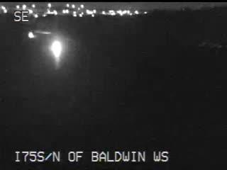 Traffic Cam @ N of Baldwin WS - north
